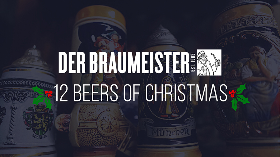 12 Beers of Christmas Tapping!